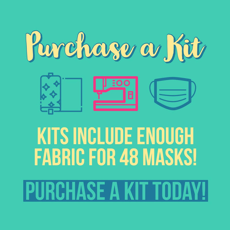 Sewing Mask Fabric Kit - Sew It Online