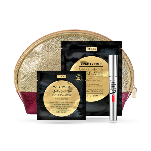 Vamp! Mascara, Brightening Mask & Eye Patch - Gift Set