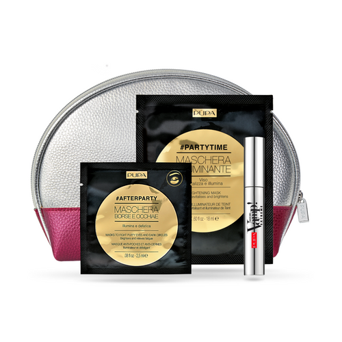 Vamp! Mascara Extreme, Brightening Mask & Eye Patch - Gift Set