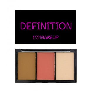 I Heart Makeup - I Heart Definition Medium - Velvet Scarlet