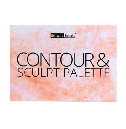 Beauty Treats - Contour and Sculpt Palette - Velvet Scarlet