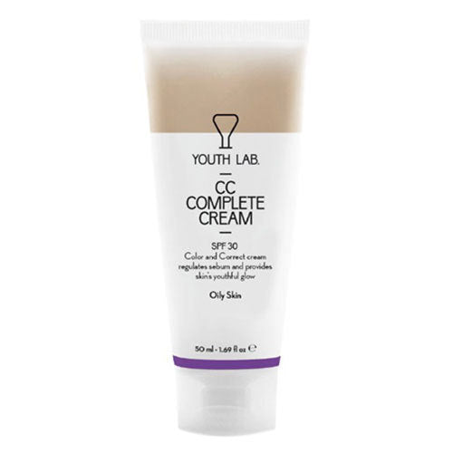 YOUTH LAB - CC Complete Cream - Oily Skin - SPF30 - Velvet Scarlet