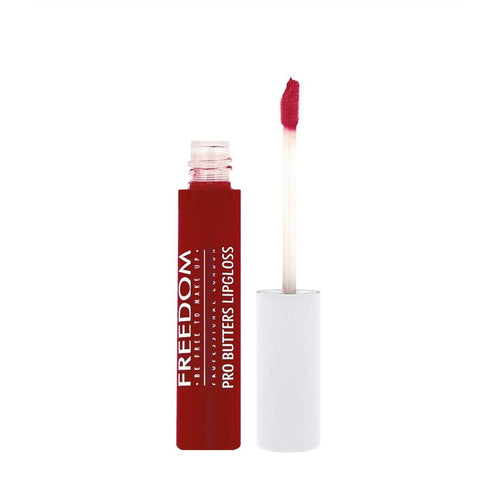 Freedom Makeup London - Pro Butters - Jammy Dodger - Velvet Scarlet
