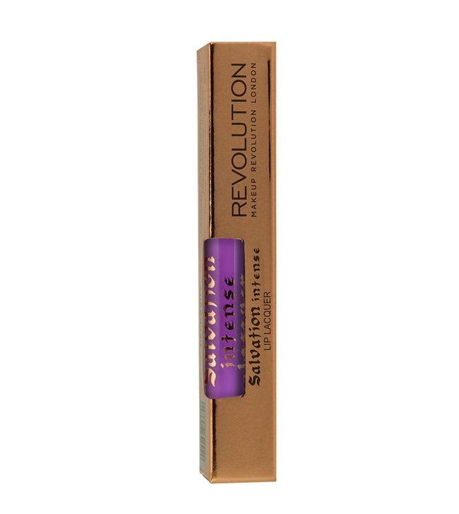 Makeup Revolution - Salvation Intense Lip Lacquer - Depravity - Velvet Scarlet