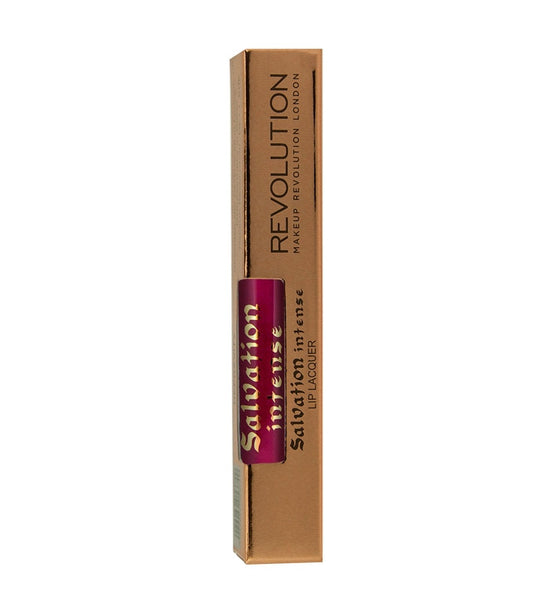 Makeup Revolution - Salvation Intense Lip Lacquer - Rebel - Velvet Scarlet