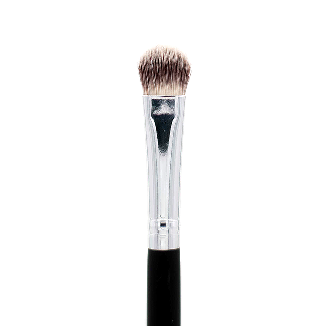 Crown Brush - Deluxe Oval Shadow Brush SS011 - Velvet Scarlet