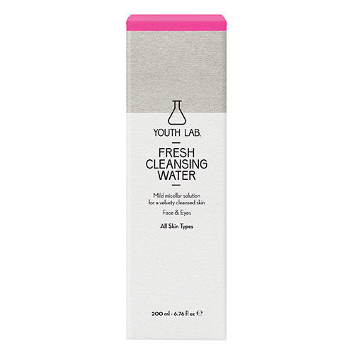 YOUTH LAB - Fresh Cleansing Water - All Skin Types - Velvet Scarlet