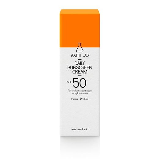 YOUTH LAB - Daily Sunscreen Cream - Normal_Dry Skin - SPF 50 - Velvet Scarlet