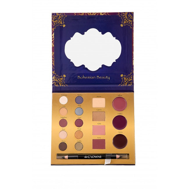Crown Brush - Aulora Palette - Velvet Scarlet