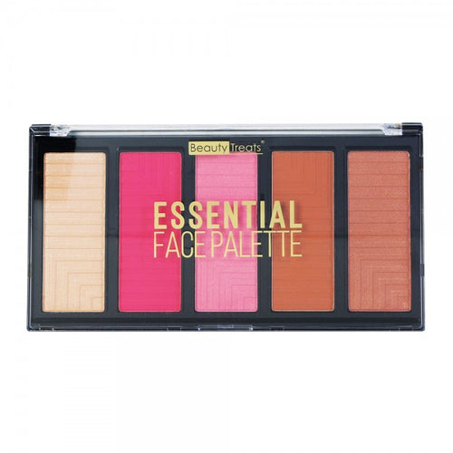 Beauty Treats - Essential Face Palette - Velvet Scarlet