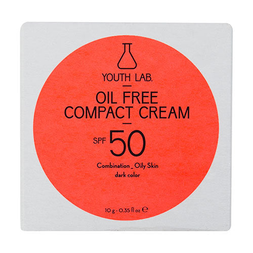 YOUTH LAB - Oil Free Compact Cream SPF50 - Dark Color - Velvet Scarlet