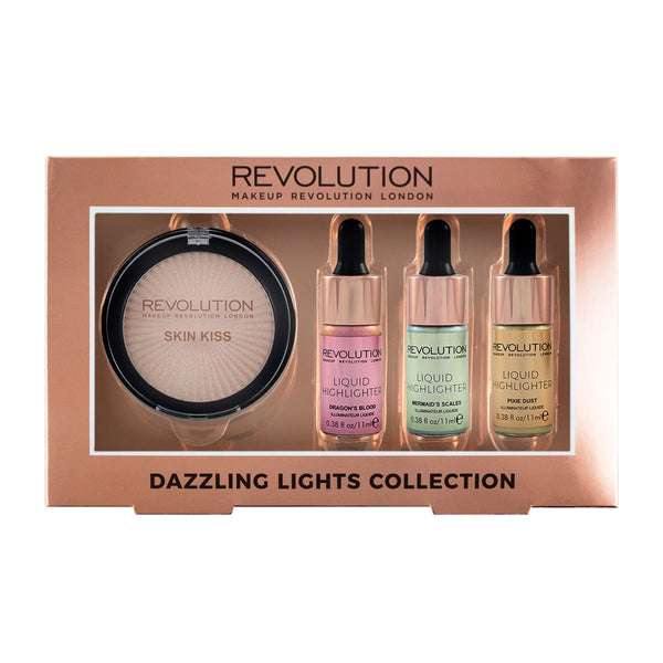 Makeup Revolution - Dazzling Lights Collection - Velvet Scarlet