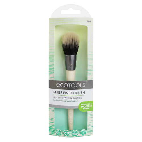 Ecotools - Sheer Finish Blush Brush - Velvet Scarlet