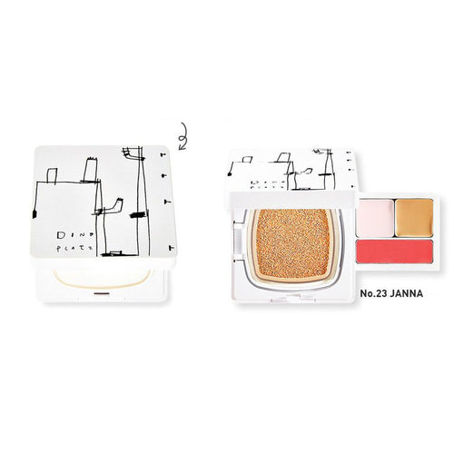Too Cool for School - Dinoplatz Janna 4-in-1 Makeup Kit - Velvet Scarlet