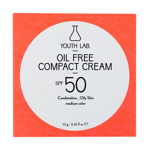 YOUTH LAB - Oil Free Compact Cream SPF50 - Medium Color - Velvet Scarlet