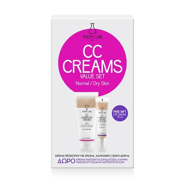 YOUTH LAB - CC Complete Cream Value Set - Normal_Dry Skin - SPF30 - Velvet Scarlet