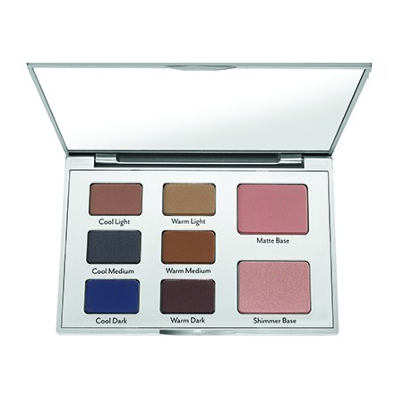 Cargo - Eye contour eyeshadow Palette Warmer Base 2 - Velvet Scarlet