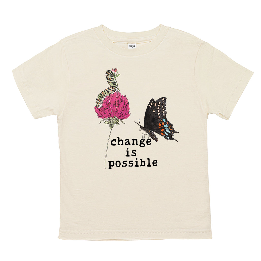 Change is Possible | Organic Unbleached Tee