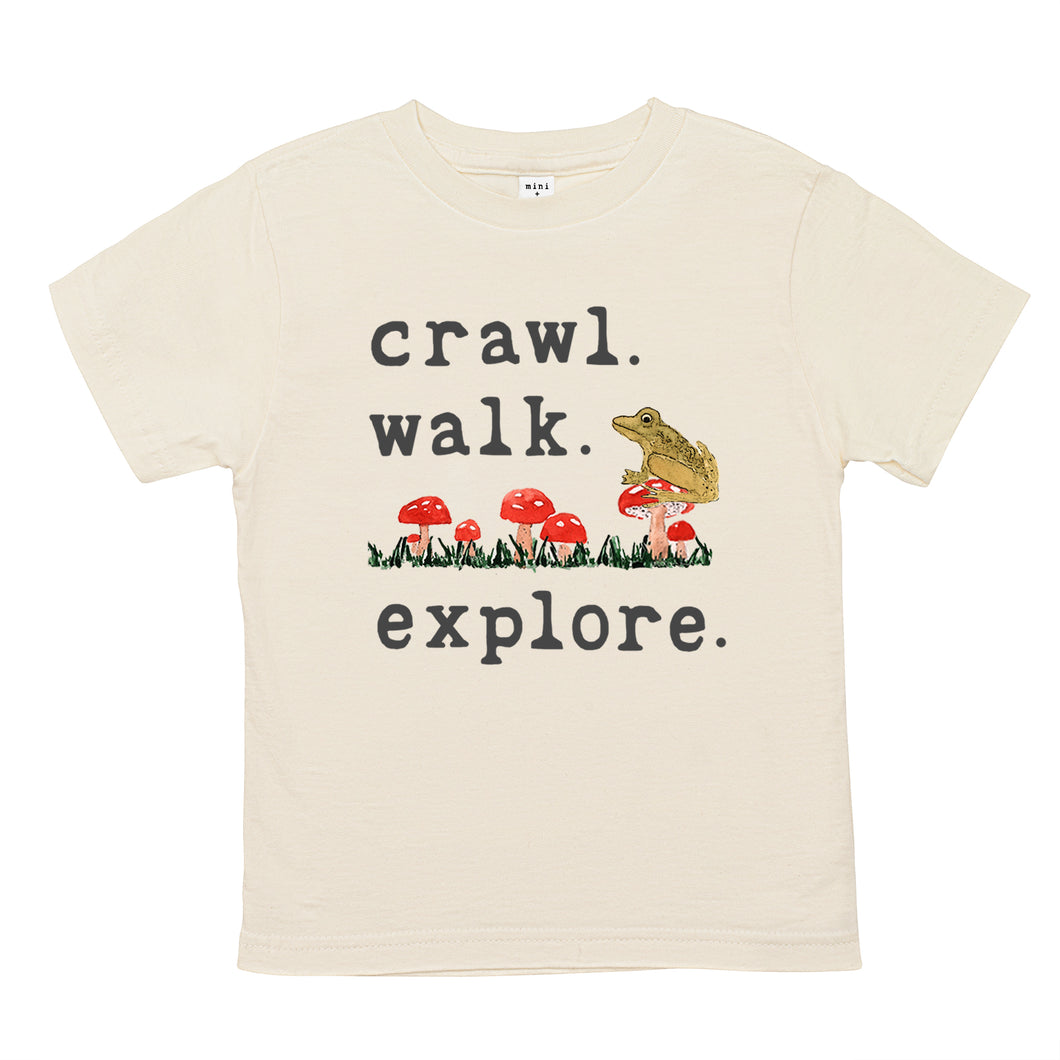 Sustainably made, organic baby and children's apparel that gives back. Organic toddler tee / t-shirt.