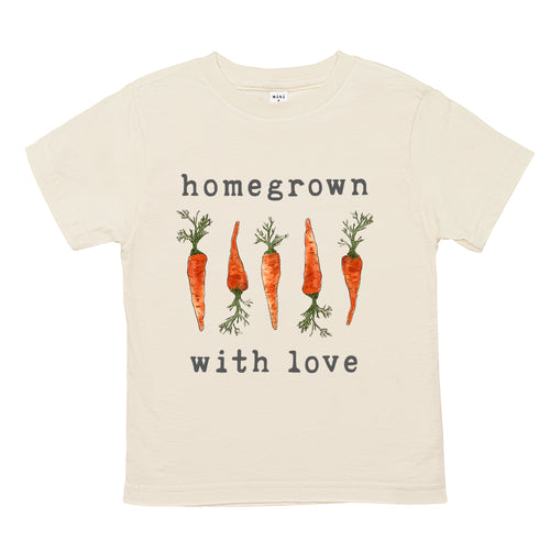 Homegrown with Love® (Carrot Edition) | Organic Unbleached Tee