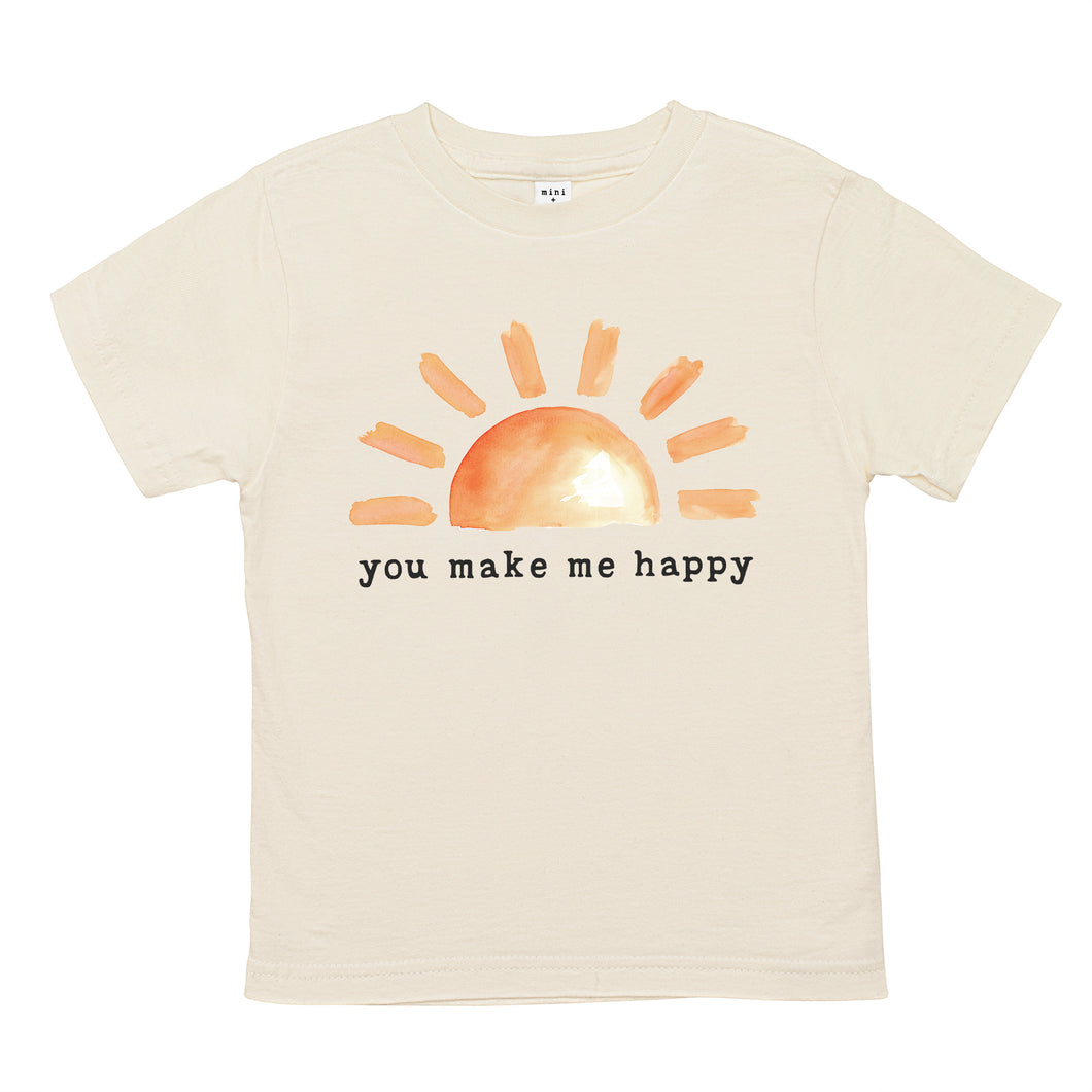 You Make Me Happy | Organic Unbleached Tee