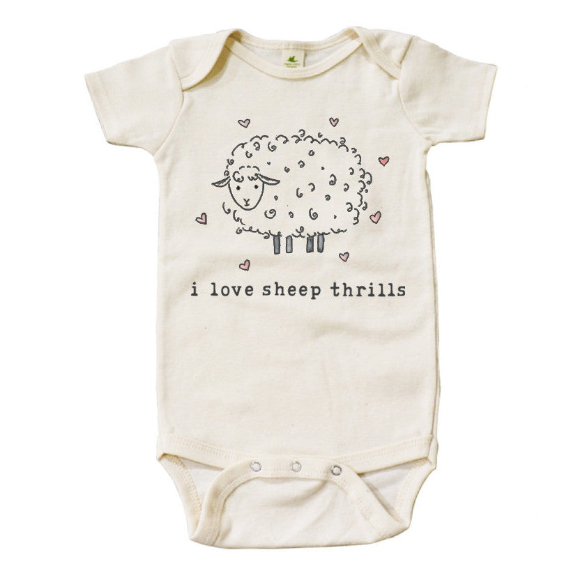 I Love Sheep Thrills | Organic Unbleached Snappie