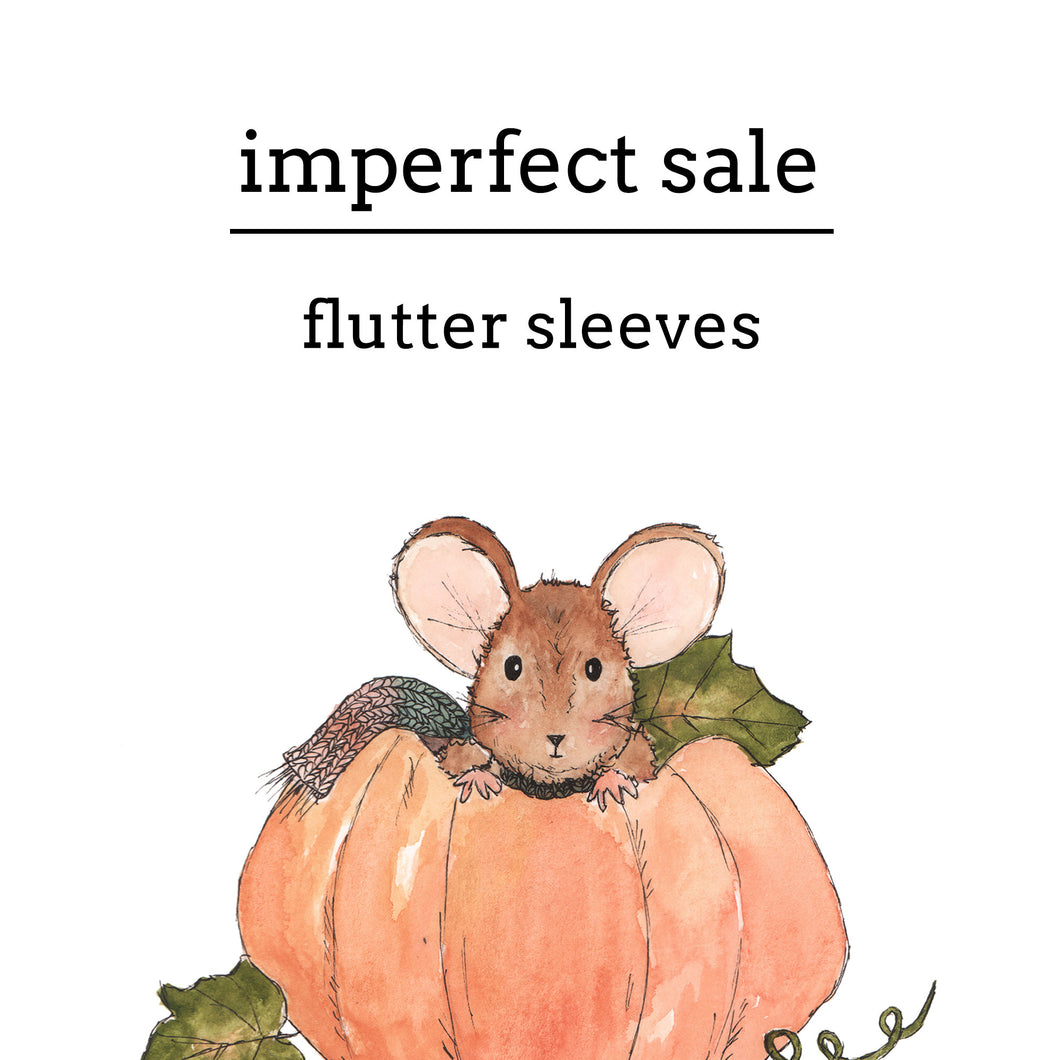 Imperfect Sale | Flutter Sleeve Snappies