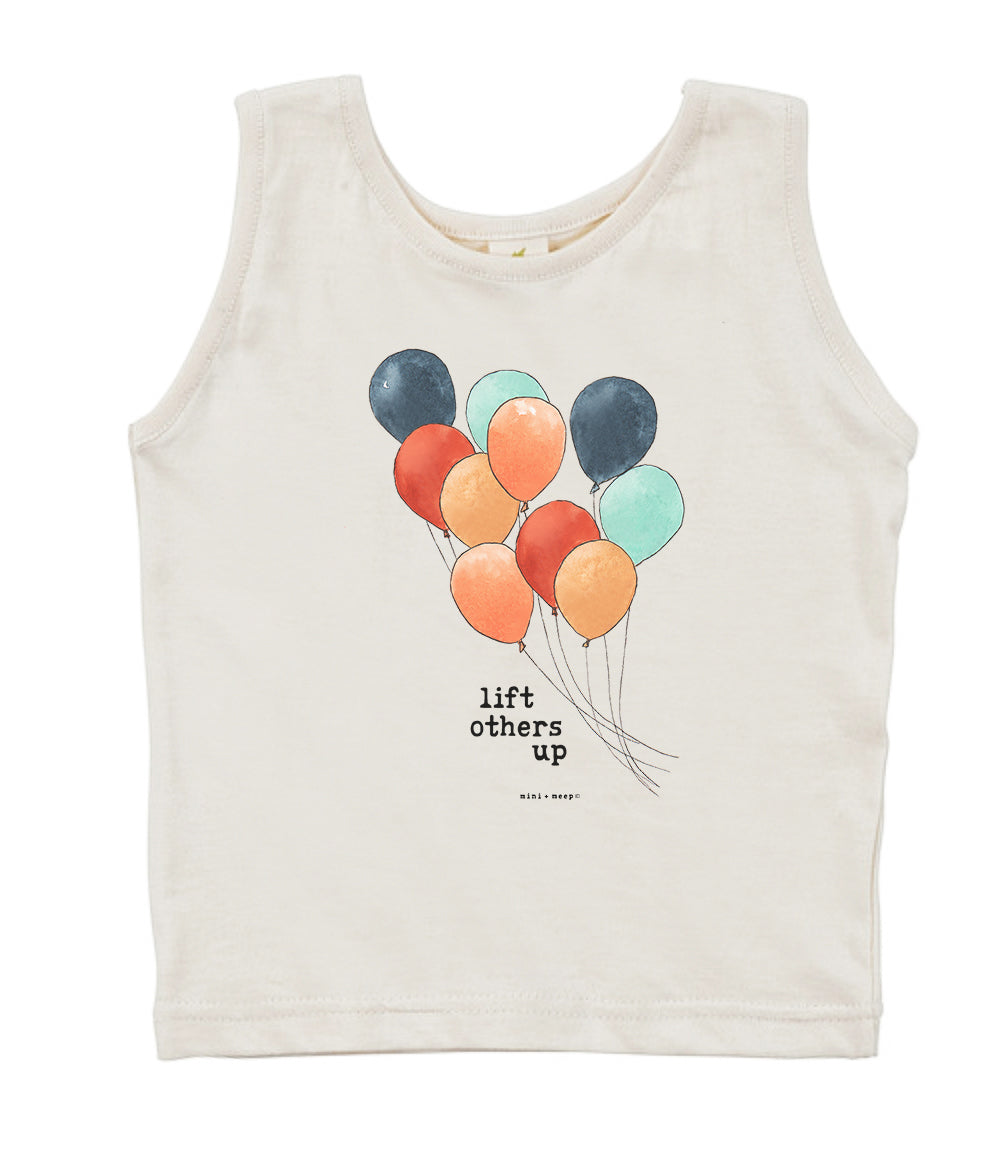 Lift Others Up | Organic Unbleached Tank Top