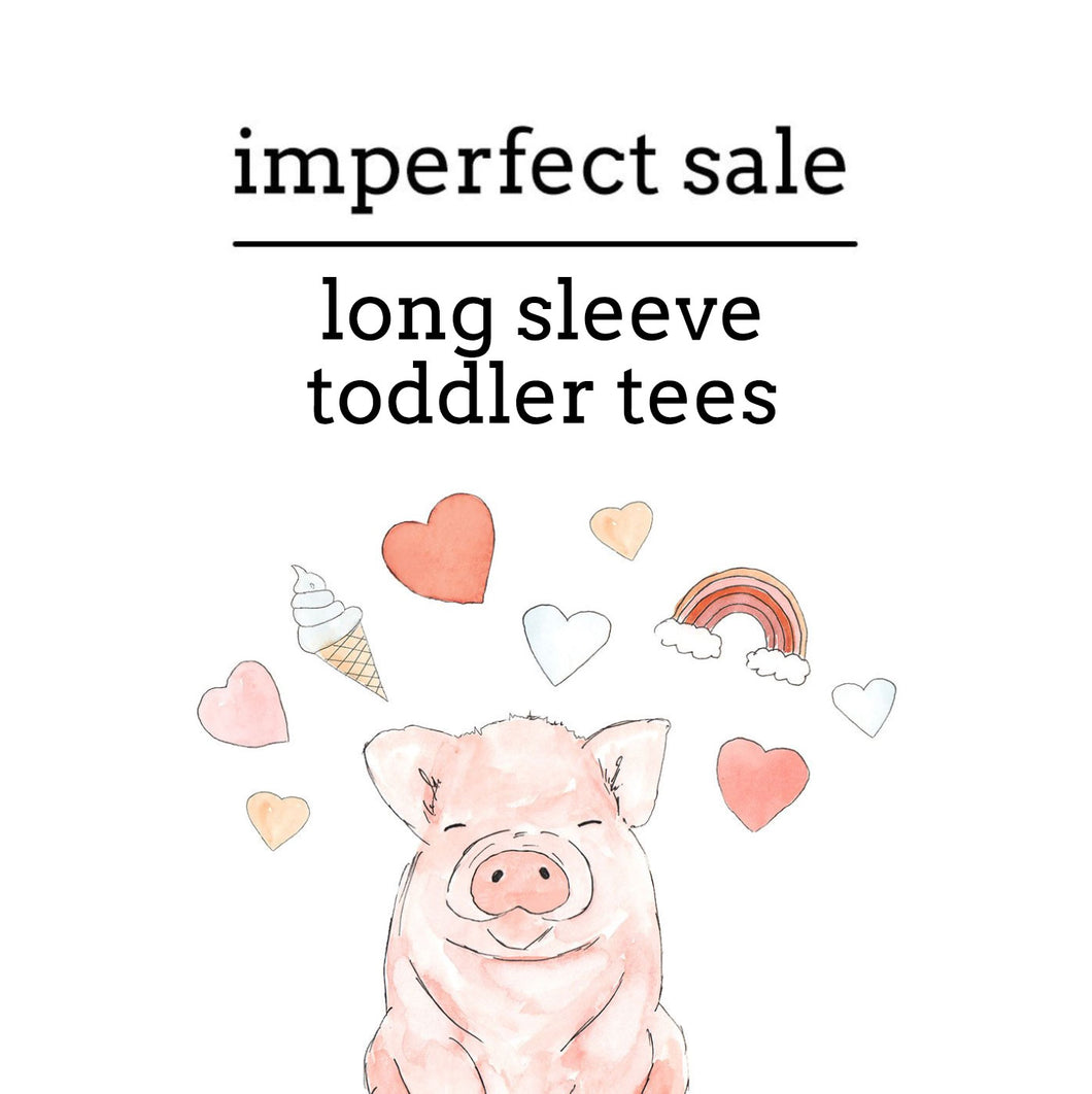 Imperfect Sale | Long Sleeve TEES (18-24 THRU 6)