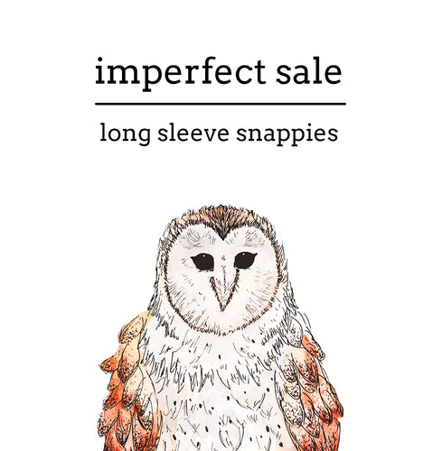 Imperfect Sale | Long Sleeve Snappies