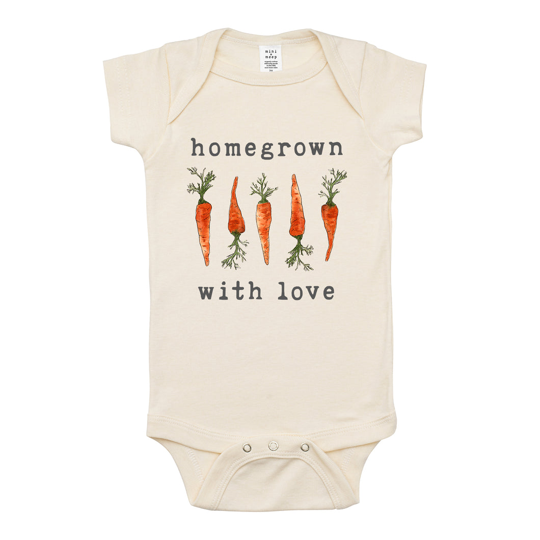 Homegrown with Love® (Carrot Edition) | Organic Unbleached Snappie