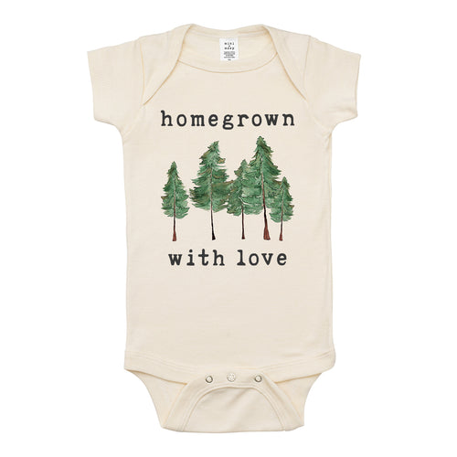 Homegrown with Love® (Forest Edition) | Organic Unbleached Snappie
