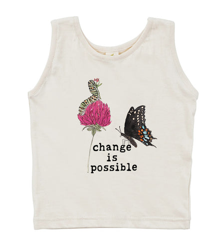 Change is Possible  | Organic Unbleached Tank Top