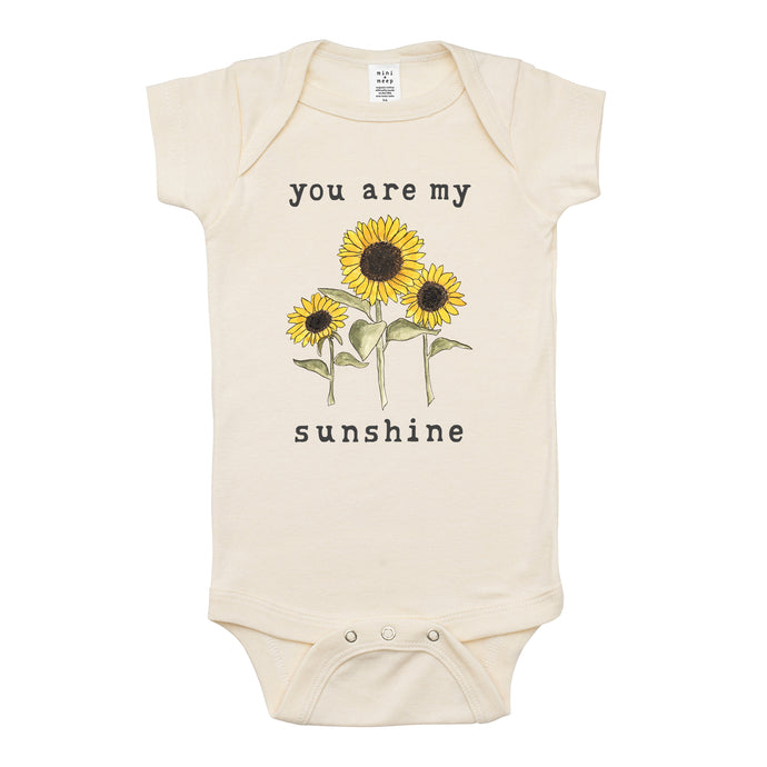 You Are My Sunshine | Organic Unbleached Snappie
