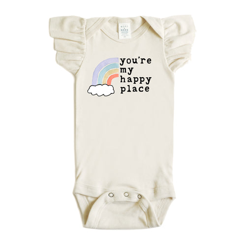 You're My Happy Place | Flutter Sleeve Snappie