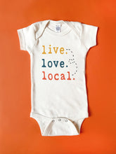Live. Love. Local. Organic Unbleached Snappie