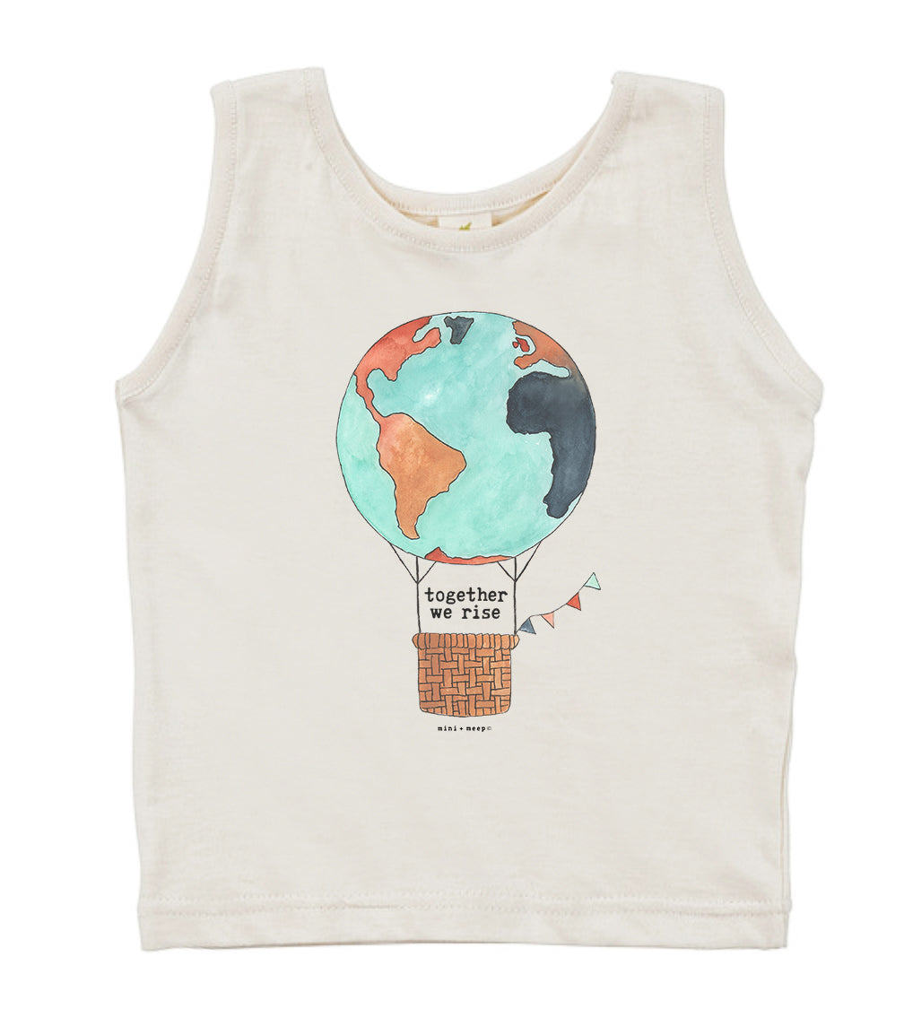 Together We Rise | Organic Unbleached Tank Top
