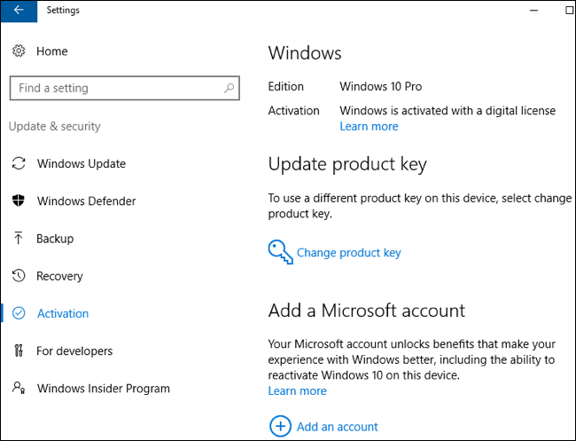 Windows 10 product activation refurbit figure windows activation information ccuart Image collections