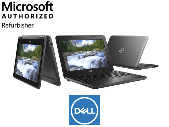 Dell 3190 2 in 1 Laptop Tablet Notebook Refurbished