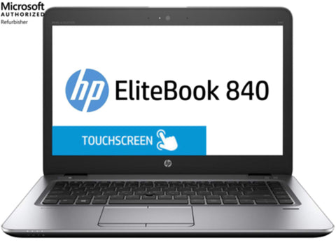 "HP EliteBook 840 G3 14"" Touchscreen Laptop, i5, 16GB, 240GB SSD, Win 10 Pro. (Refurbished)"