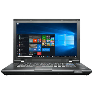"Lenovo ThinkPad L520 Laptop 15.6"", Intel Core i3, 8GB RAM, 320GB HDD, Win10"