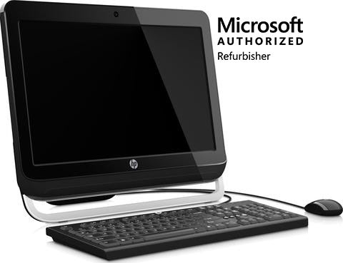 "HP Pro 3420 All-in-One 20"" Desktop,"