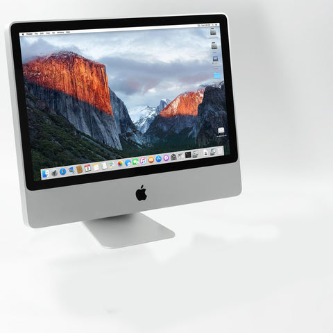 "Apple iMac A1224, 20"" src, Intel Core 2 Due, 2GB RAM, 160GB HDD, OS X El Capitan"