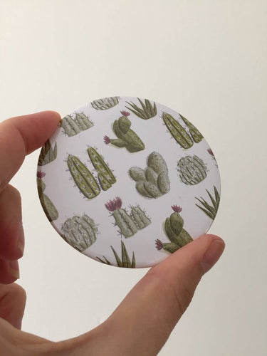 Cacti Pocket Mirror