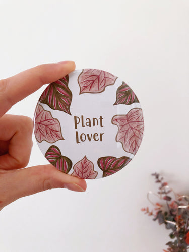 Plant lover Pocket Mirror