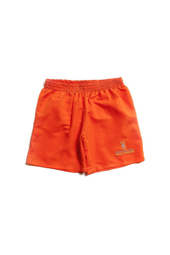 SHORT  COTTON  LARANJA  CEI
