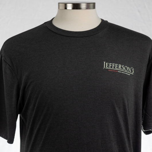 Jefferson's 'All About The Wood' Short Sleeve T-shirt