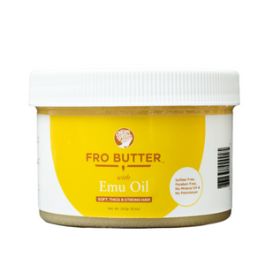 Fro Butter with Emu Oil - Hair Growth Butter