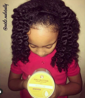 Fro Butter with Emu Oil - Mango Scented Hair Growth Butter