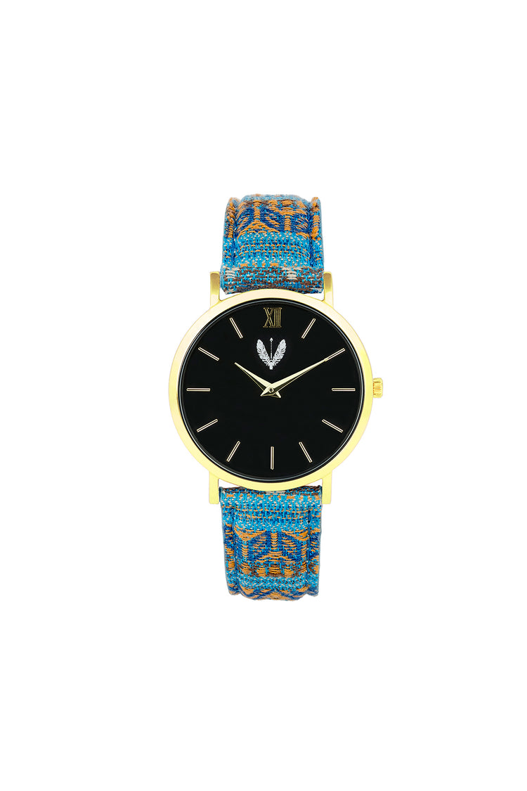 Gold Black Ndebele